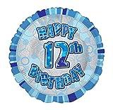 Unique Party Supplies 45,7cm Folie Glitz Happy Birthday Helium Ballon