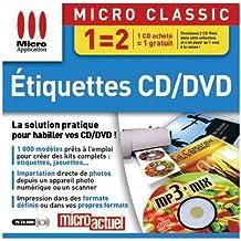 Etiquettes CD/DVD