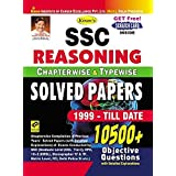 Kiran's SSC Reasoning Chapterwise & Typewise Solved Papers 10500+ Objective Questions – English - 1999-TILL DATE(Old Edition)