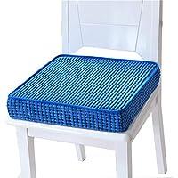Preisvergleich für JianMeiHome Kissen Stuhlkissen Sitzkissen Tatami Mat Haushalt Schwamm Kissen Tatami Kissen Rutschfeste Sitzkissen blau (Size : 40 * 40 * 8cm)