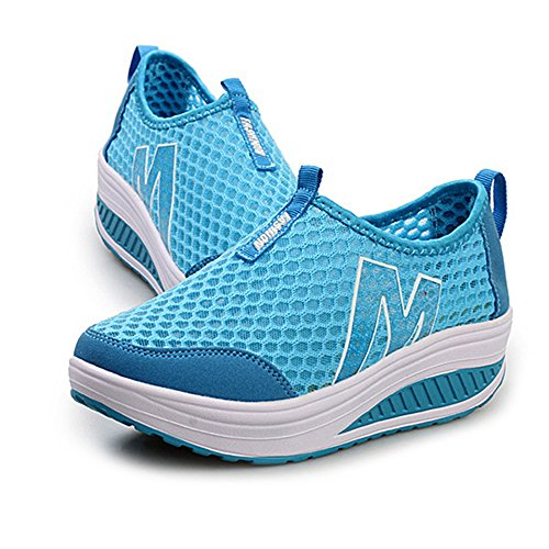 Femmes Outdoor Sneakers Baskets Gris Anti Slip Mesh Chaussures