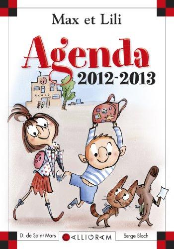 Agenda Scolaire Max et Lili 2012-2013 PDF Books