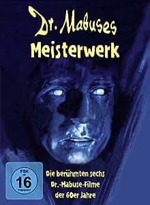 Dr. Mabuses Meisterwerk - Digipak (Die berühmten sechs Dr.-Mabuse-Filme der 60er Jahre) [6 DVDs]