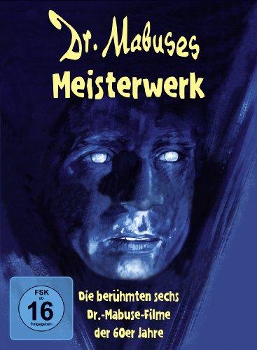 Bild von Dr. Mabuses Meisterwerk - Digipak (Die berühmten sechs Dr.-Mabuse-Filme der 60er Jahre) [6 DVDs]