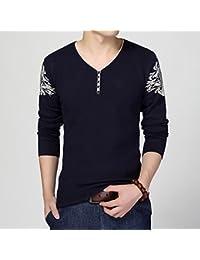 942ad31b6211 Herren Strick Shirt Herbst und Winter koreanische Version des Sau schlagen  die shirt Pullover jacquard Set head V für…