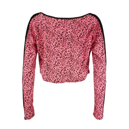 Too Fast Brand Fashion-Top FANG LIPS black-pink Black-Pink