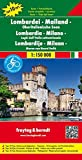 Lombardy - Milan : Lakes in Northern Italy : Road and Leisure Map (English, Spanish, French, Italian and German Edition) by Freytag & Berndt(2016-05-30)