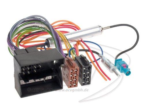 ACV 1230-46 Radioanschlusskabel für OPEL (Quadlock, Phantomeinspeisung, DIN)