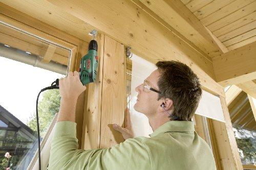 Bosch DIY Schlagbohrmaschine PSB 570 RE, 4 tlg. Universalbohrer-Set, Zusatzhandgriff, Tiefenanschlag, Koffer (570 W, max. Bohr-Ø: Beton 10 mm, Holz: 25 mm) - 5