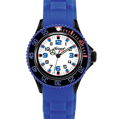 Scout Jungen Analog Quarz Uhr mit Silikon Armband 280303019 - 2