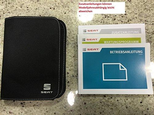 Preisvergleich Produktbild SEAT Leon 5F Bordbuch,Serviceheft Bedienungsanleitung,Betriebsanleitung