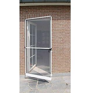 Aubry Gaspard Fliegengitter/Rahmen aus Aluminium für Tür 1x 2,15m