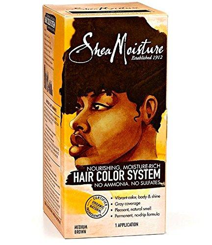Shea Moisture Certified Organic Medium Brown Hair Color System by Shea Moisture