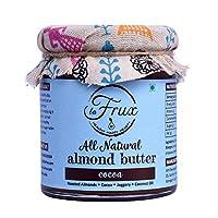 La Frux Cocoa Almond Butter - All Natural, Dark Chocolate, Vegan, Gluten Free Spread, 200 GMS