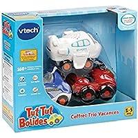 Vtech - 205735 - Véhicule Miniature - Tut Tut Bolides - Coffret Trio Vacances