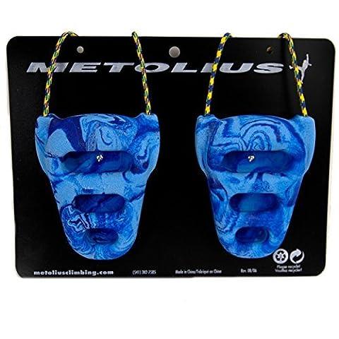 Metolius Rock Rings CNC 3D Blue/Blue Swirl One Size by Metolius
