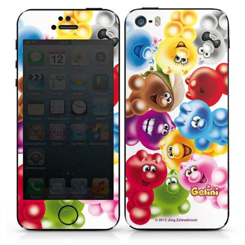 Apple iPhone 6 Case Skin Sticker aus Vinyl-Folie Aufkleber Gelini Gummibärchen Bunt DesignSkins® glänzend