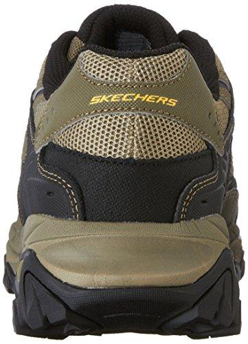 Sneaker Skechers Sport Afterburn mousse à mémoire de lacets Pebble/Black/Pebble