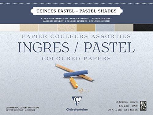Clairefontaine 96488C Blocco Ingres-Pastel 86d1fb6ffd1