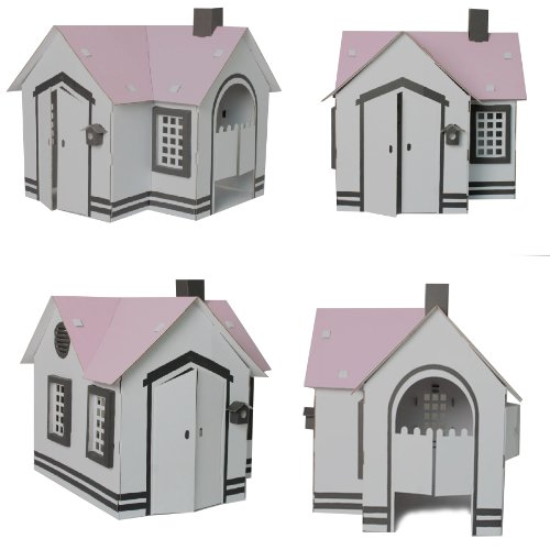 cardboard-dolls-house-with-pink-roof-to-paint-and-decorate