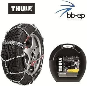Thule Premium Schneeketten Cs 10 Für Die Reifengröße 205 55 R16 Kettenglieder 10 Mm Mit Icebreaker System Auto