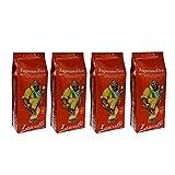 Lucaffé Espresso Bar Ganze Bohne, 1000 g, 4er Pack (4 x 1 kg)