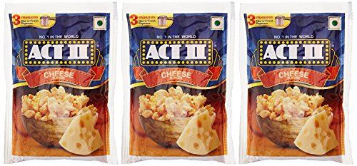 Act II Instant Popcorn, Cheese, 3x70g (Buy 2 Get 1...