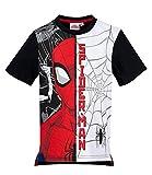 Spiderman Jungen T-Shirt - Schwarz - 104