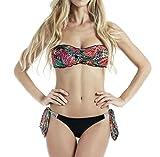 4GIVENESS Costume Bikini Donna Fantasia/Nero