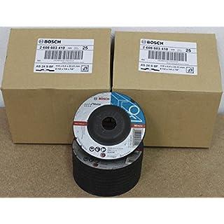 Bosch Schruppscheiben gekröpft, Standard für Metall, 115 mm, 22,23 mm, 6 mm, 50 Stück