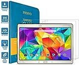 PREMYO 2 Stück Panzerglas für Samsung Galaxy Tab S 10.5 Schutzglas Display-Schutzfolie für Galaxy Tab S 10.5 Blasenfrei HD-Klar 9H 2,5D Echt-Glas Folie kompatibel für Samsung Tab S 10.5 Gegen Kratzer