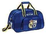 Safta Real Madrid Bolsa de Deporte, 40 x 24 x 23 Azul