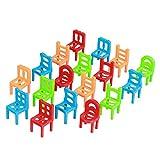 Kunststoff Gleichgewicht Lernen Stühle Kindererziehung Spielen Stapelstühle Spielzeug