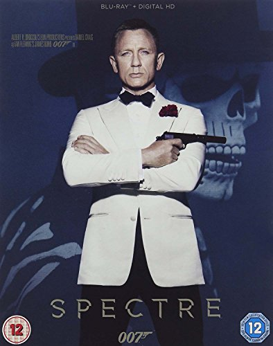 Spectre [Blu-ray + UV Copy] [2015] UK-Import, Sprache-Englisch.