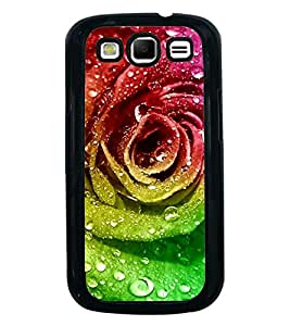 PrintVisa Designer Back Case Cover for Samsung Galaxy S3 Neo I9300I :: Samsung I9300I Galaxy S3 Neo :: Samsung Galaxy S Iii Neo+ I9300I :: Samsung Galaxy S3 Neo Plus (Artificial Rose With Water Bouble Graphical Rose)