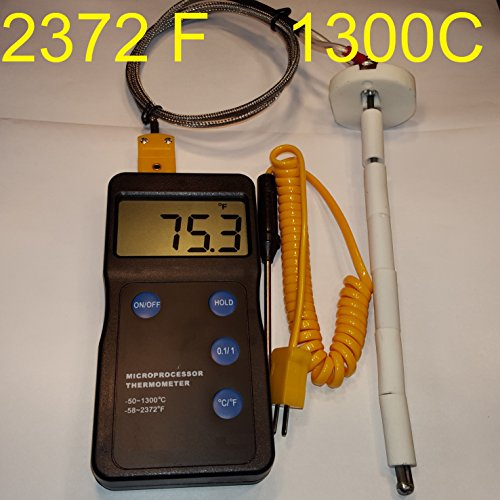 Digital Pyrometer F,C Pottery Ceramic Glass Annealing for sale  Delivered anywhere in UK