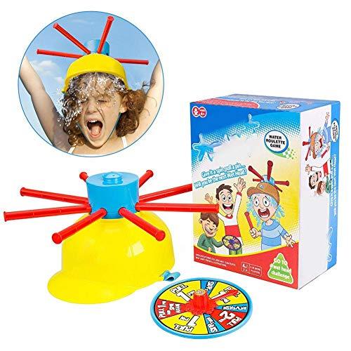dream-cool Wet Head Game - Plattenspieler Wasser Hüte Spielzeug Wet Water Challenge Cap Familie Spielzeug für Kinder Jungen Mädchen (Cool Plattenspieler)