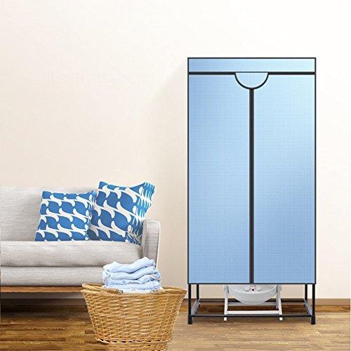 Double layer Portable Safe Wäschetrockner,Haushalt Kleiderschrank Heizung ventilator Elektro wäscheständer-A 70x45x147cm(28x18x58) (Stecken Trockner Elektrische)