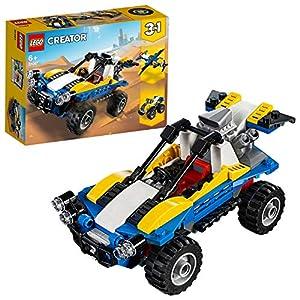 LEGO Creator DuneBuggy, Fuoristrada, Aeroplano e Quad, Set da Costruzione 3in1,Veicoli Giocattolo per Bambini dai 6 Anni in su, 31087 5702016367829 LEGO