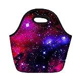 Coloranimal Universe Galaxy en néoprène Sac à déjeuner Boîte Boîte à lunch isotherme Coque, femme, universe galaxy-2