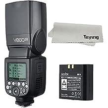 Godox v860ii-n pionero Li-Ion recargable cámara flash Kits, 2,4G inalámbrico, Maestro Y Esclavo TTL Speedlite para Nikon DSLR Cámara
