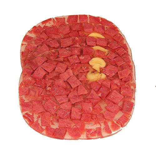 Kalbfleisch gewürfelt in Aspik geschnitten 100 g