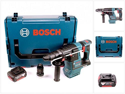 Preisvergleich Produktbild Bosch GBH 18 V-26 F Akku Bohrhammer Professional SDS-Plus in L-Boxx mit 1x GBA 6 Ah Akku