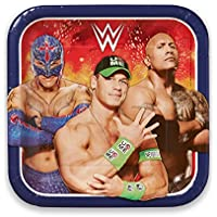 Amscan 551467 23 cm WWE Paper Plates