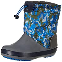CrocsTM Crocband LodgePoint Graphic Winter Boot K