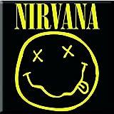 Nirvana–Metal magnético–Logo Smiley