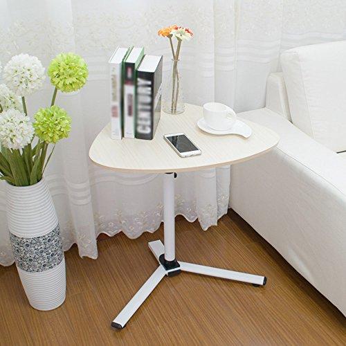 HAKN Klapptisch Bewegen Sie sich nach oben und unten, um den Laptop Schreibtisch zu bewegen Nacht faul Beistelltisch 5 Farben erhältlich 620 * 590mm ( Farbe : E ) (Multi-funktion-laptop-tisch)