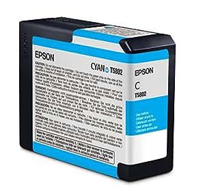 Epson T5802 Cartouche d'encre d'origine 1 x cyan