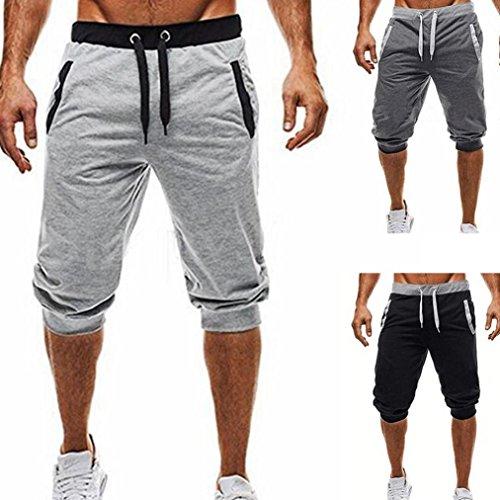 38b3f014a QinMM Pantalones Cortos Deportes Running para Hombre