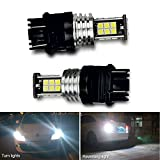 2pcs 3056 3156 3057 3157 LED Bulbs with Projector for Backup Reverse Lights